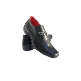 6210f9cd1 Sapato Social Masculino Envernizado Desconto De 60%