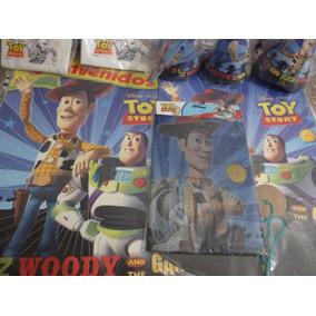 Combo Cotillón Toy Story Para 20 Chicos Línea Oficial