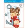 Decoração Para Caixa De Brinquedos Mdf Decoupage Menina Ma