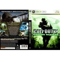 Call Of Duty 4 Modern Warfare Xbox 360 Original Frete R$8,00