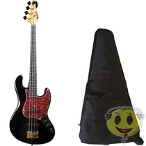 Baixo Dolphin Jazz Bass Rocket 4c Gold Top