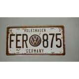 Placa Decorativa Diversas Metal/vintage/carro/antiga
