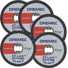 Dremel Accesorio Disco Ez-476 Cortar Plástico 1-1/2 In 5un