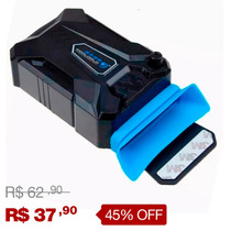 Cooler Exaustor Portátil Usb Notebook Macbook Laptop T89