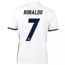 Jersey Original Real Madrid 16-17 Ronaldo Estampado Incluido