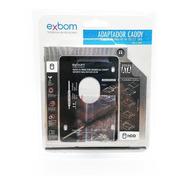 Adaptador Dvd P/ Hd Ou Ssd Sata Notebook Drive Caddy 9,5mm