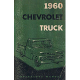 Manual Propietario Chevrolet Pick Up Apache 1960