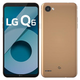 Smartphone Lg Q6, Dual Chip, Rose Gold, Tela 5.5 , 32gb