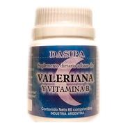 Valeriana + Vitamina B 6 X 60 Comprimidos. Dasipa