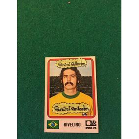 Panini World Cup 1974- Rivelino N° 164 Br.