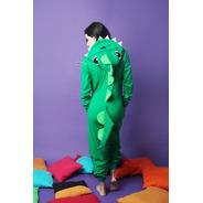 Kigurumi Pijama Dinosaurio Verde - Envío Incluido