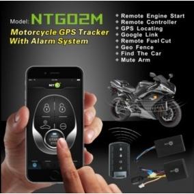 Kit Moto Alarme Rastreador Bloqueador Partida Remota Ntg02m