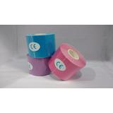 Fita Kinesio Tape Adesiva Cinesiologia 5,0cm X 5,0m