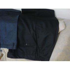 Pantalones De Vestir De Gabardina Importados (caballeros)