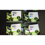 Pack 4cartuchos Hp 951 Xl 950 Xl Remate