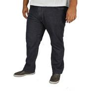 Calça Jeans Masculina Tradicional Tamanho Grande Com Lycra Até Numero 68 98% Algodão 2% Elastano Ótimo Acabamento