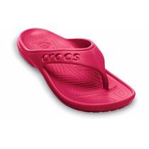 Crocs Baya Flip Totalmente Moldeado Con Material Croslite