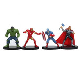 Figuras Marvel Infinity Wars Set 4 Unidades