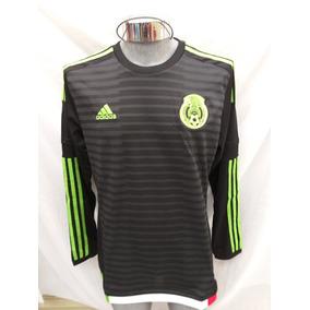 f0eb4095d4a28 Jersey Seleccion Mexicana Adidas Roja Mangalarga Autografiad en ...