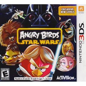 Angry Birds Star Wars Nintendo 3ds Juego Nuevo En Karzov