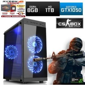 Cpu Gamer Amd Ryzen 1600x Gtx 1050ti 8gb Asus A320m-c 8gb