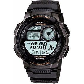 Reloj Deportivo Casio World Time 100m Ae-1000w-1avcf