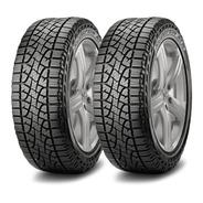 Kit X2 Neumaticos Pirelli 245/70 R16 Scorpion Atr / Colocacion