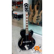 Guitarra Ibanez Semi Acústica Af71f Preta