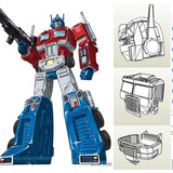 Transformers Optimus Prime - Disfraz - Armadura Plantillas