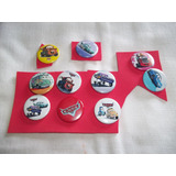 Pins Pines Disney Pixar Cars X 10 Unidades