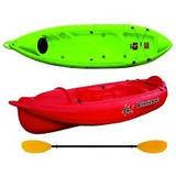 Kayak K1 Atlantic + Remo + Salvavidas + Asiento + Silbato ++