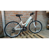 Bicicleta Mountain Bike Roadmaster Mujer Aro 24