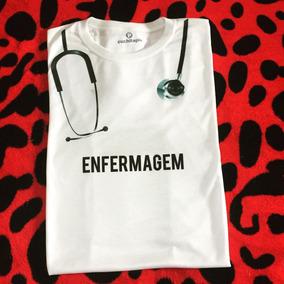 Camiseta - Enfermagem Enfermeira Estetoscópio