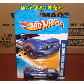 Hot Wheels 2010 Ford Mustang Gt Azul Lcatoy79