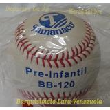 Pelota Béisbol Tamanaco Bb120 Pre Infantil Cuero Importada