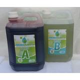Kit Sales Minerales Nutrientes Hidroponia X5l. Rinde Mil L.
