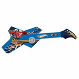 Guitarra Infantil Radical Touch Hot Wheels Azul 8007-3 - Fun