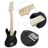 Guitarra Electrica Zeny 30 Pulgadas Negro Envio 24 Horas