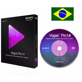 Sony Vegas Pro 14 Mídia Física + Brinde