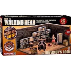 Set Amc The Walking Dead Sala Do Governador Mcfarlane Toys