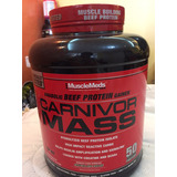 Carnivor Mass 6 Lb Proteina De Carne Ganador De Masa Muscula