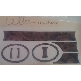 Decalco Decalque Adesivos Painel Decorativo Celta Madeira