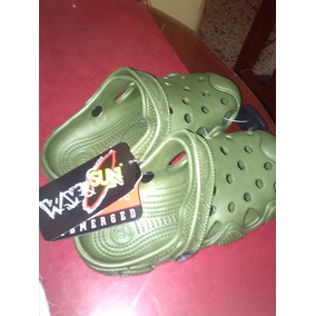Chola Tipo Croos Marca Wavesun Color Verde Talla 41