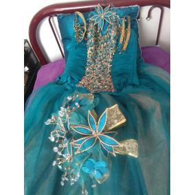 Imagenes de vestidos de xv color verde jade