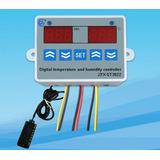 Termostato Higrostato Control De Temperatura Humedad Sensor
