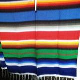 Poncho Mexicano De Colores