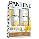 Kit Pantene Shampoo + Condicionador Hidratação 200 Ml