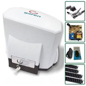 Kit Motor Para Portão Eletrônico Deslizante Kdz Garen+brinde