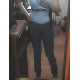 Jeans Azul A La Cadera Talla 12 Marca Virgin Only En Oferta