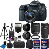 Canon Eos 70d Digital Slr Cámara Full Hd 1080p De Video +...